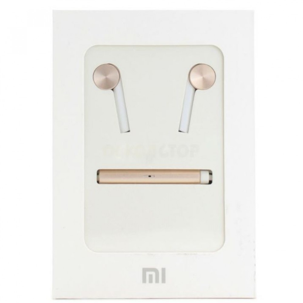 Наушники Xiaomi Hybrid Dual Drivers Headphones WHITE / GOLD в Старом Осколе